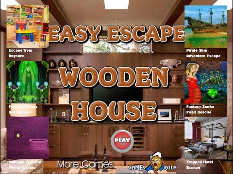 Games2rule Easy Escape Wooden House Walkthrough 2017 Crzy Escape