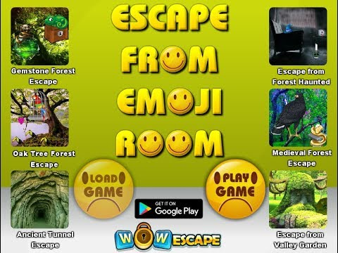 WOWEscape - Escape From Emoji Room Walkthrough 2017 - cRzY